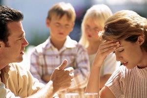 Divorcio con hijos